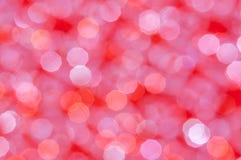 Fondo brillante abstracto Defocused de las luces rojas y blancas Foto de archivo libre de regalías