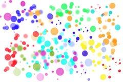 Fondo brillante abstracto del círculo libre illustration
