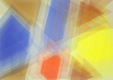 Fondo brillante abstracto del vector Fotografía de archivo
