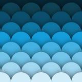Fondo brillante azul de la onda Ondas azules del vector del agua Fondo abstracto del agua stock de ilustración