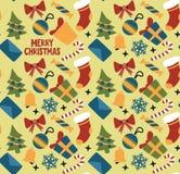 Fondo brillante coloreado de la Navidad Imagenes de archivo
