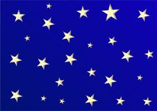 Fondo brillante con las estrellas para cualquier clase de impresión imagen de archivo