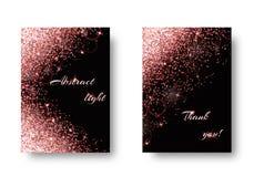 Fondo brillante con las luces del deslumbramiento Imagen de archivo libre de regalías