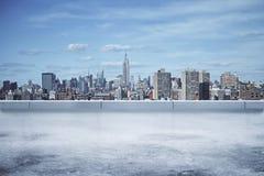 Fondo brillante de la ciudad Fotos de archivo