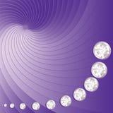 Fondo brillante de la lila Fotografía de archivo