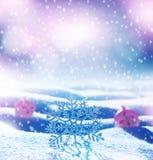 Fondo brillante de la Navidad Foto de archivo