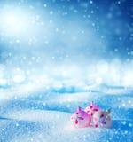 Fondo brillante de la Navidad Fotos de archivo libres de regalías