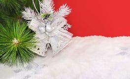 Fondo brillante de la Navidad Fotografía de archivo
