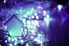 Fondo brillante de la Navidad Fotos de archivo