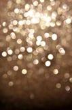 Fondo brillante de la Navidad del oro Foto de archivo