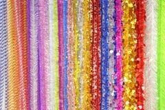 Fondo brillante de la Navidad del ` s del Año Nuevo de la malla multicolora Fotos de archivo