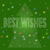 Fondo brillante de la tarjeta de las vacaciones de invierno Imágenes de archivo libres de regalías