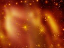 Fondo brillante de las estrellas Fotos de archivo