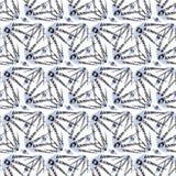Fondo brillante de los elementos del modelo geométrico inconsútil abstracto Imagen de archivo