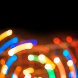 Fondo brillante de luces Imágenes de archivo libres de regalías