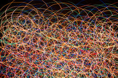 Fondo brillante de luces foto de archivo