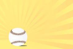 Fondo brillante del béisbol Imagen de archivo
