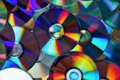 Fondo brillante del CD fotografie stock