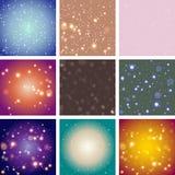 Fondo brillante del color del extracto del bokeh de la falta de definición Imagen de archivo