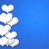 Fondo brillante del día de tarjetas del día de San Valentín Imagen de archivo
