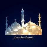Fondo brillante del diseño de la mezquita libre illustration