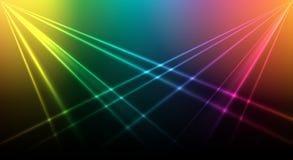 Fondo brillante del laser ilustración del vector