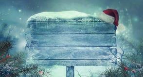 Fondo brillante del nuovo anno Fondo di Natale con il segno immagini stock libere da diritti
