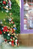 Fondo brillante dell'albero di Natale Immagine Stock Libera da Diritti