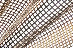 Fondo brillante della superficie di metallo Fotografie Stock Libere da Diritti