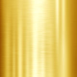 Fondo brillante di struttura del metallo dell'oro Immagini Stock