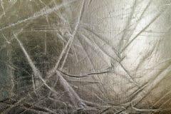 Fondo brillante di struttura dell'argento del metallo Reticolo metallico Fotografia Stock