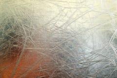 Fondo brillante di struttura dell'argento del metallo Reticolo metallico Fotografie Stock Libere da Diritti