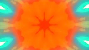 Fondo brillante elegante psicodélico ornamental multicolor metrajes