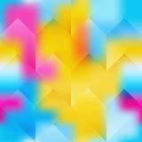 Fondo brillante geométrico abstracto libre illustration