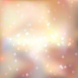 Fondo brillante ligero abstracto del vector Foto de archivo