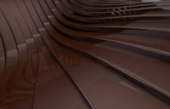 Fondo brillante metálico abstracto del marrón oscuro Libre Illustration