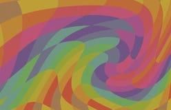 Fondo brillante mezcla del arco iris de la onda de la abstracción de colores, colores del modelo libre illustration