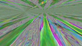 Fondo brillante nostálgico dinámico del túnel psicodélico vibrante libre illustration