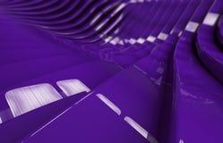 Fondo brillante púrpura abstracto del metal Ilustración del Vector