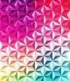 Fondo brillante poligonale geometrico astratto Immagini Stock Libere da Diritti