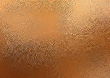 fondo bronzeo Struttura decorativa del foglio metallizzato Immagine Stock Libera da Diritti