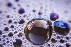 Fondo - burbujas Foto de archivo libre de regalías