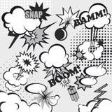 Fondo cómico del arte pop ilustración del vector
