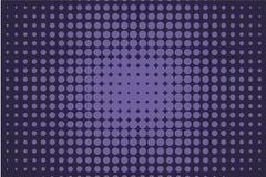 Fondo cómico Fondo de semitono monocromático Color del añil, azul marino y púrpura Fotos de archivo libres de regalías