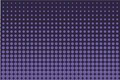 Fondo cómico Fondo de semitono monocromático Color del añil, azul marino y púrpura Foto de archivo libre de regalías