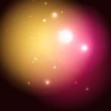 Fondo cósmico Fotos de archivo