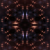 Fondo cósmico abstracto. Imagen de archivo libre de regalías