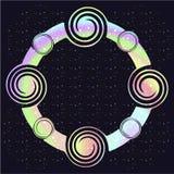 Fondo cósmico abstracto Fotos de archivo libres de regalías