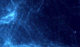 Fondo cósmico abstracto Imágenes de archivo libres de regalías
