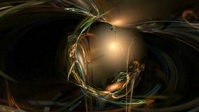 Fondo cósmico del movimiento del extracto del modelo del giro ilustración del vector